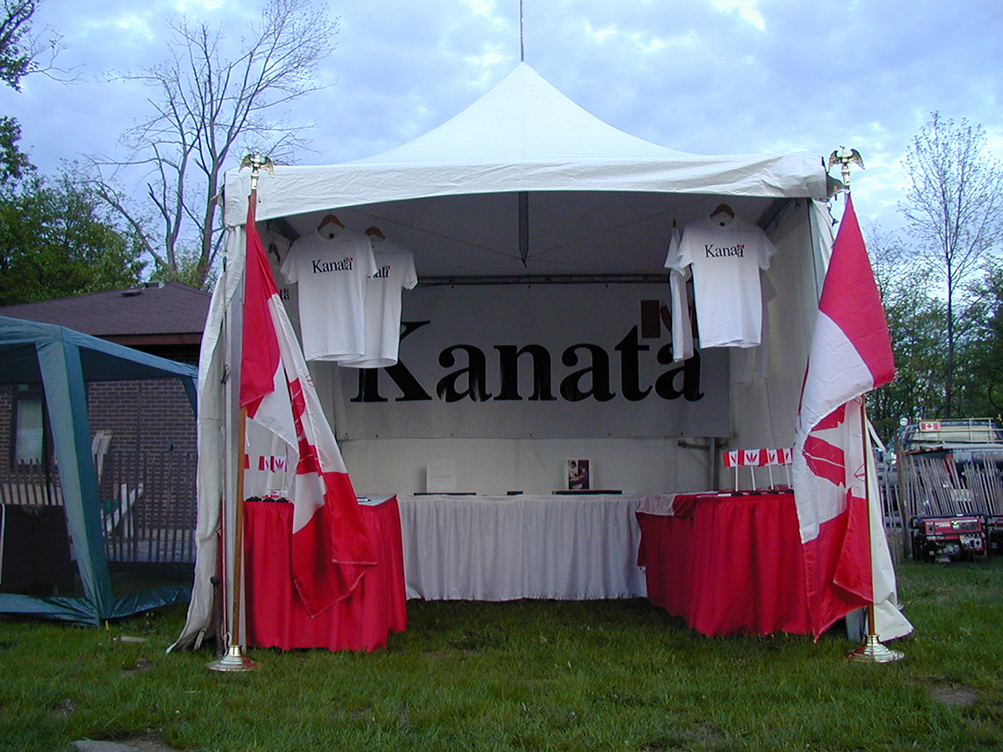 Kanata Booth at Odawa Powwow 1