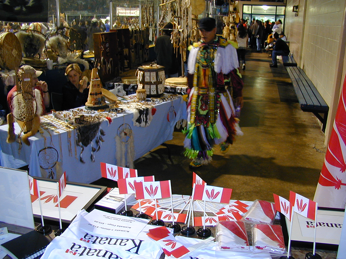 Kanata Booth at Odawa Powwow 5
