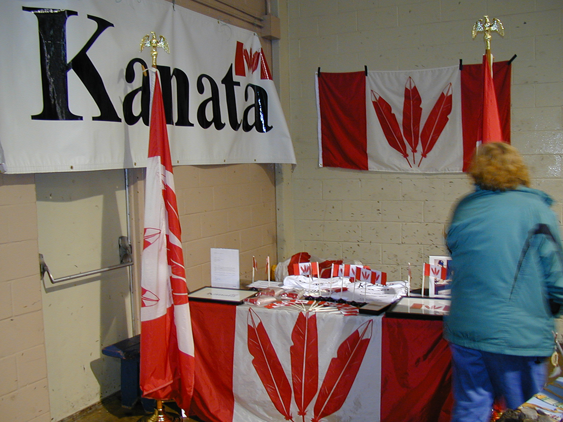 Kanata Booth at Odawa Powwow 3