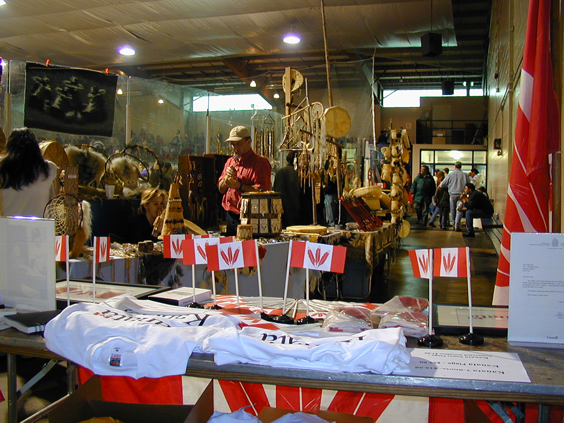 Kanata Booth at Odawa Powwow 4